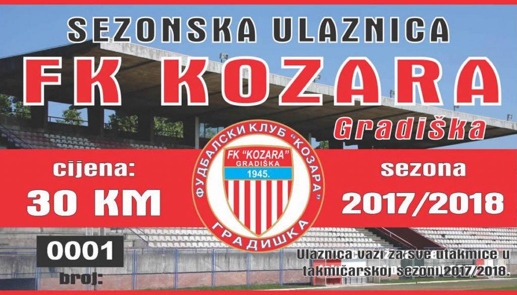 sezonska ulaznice_FK_Kozara