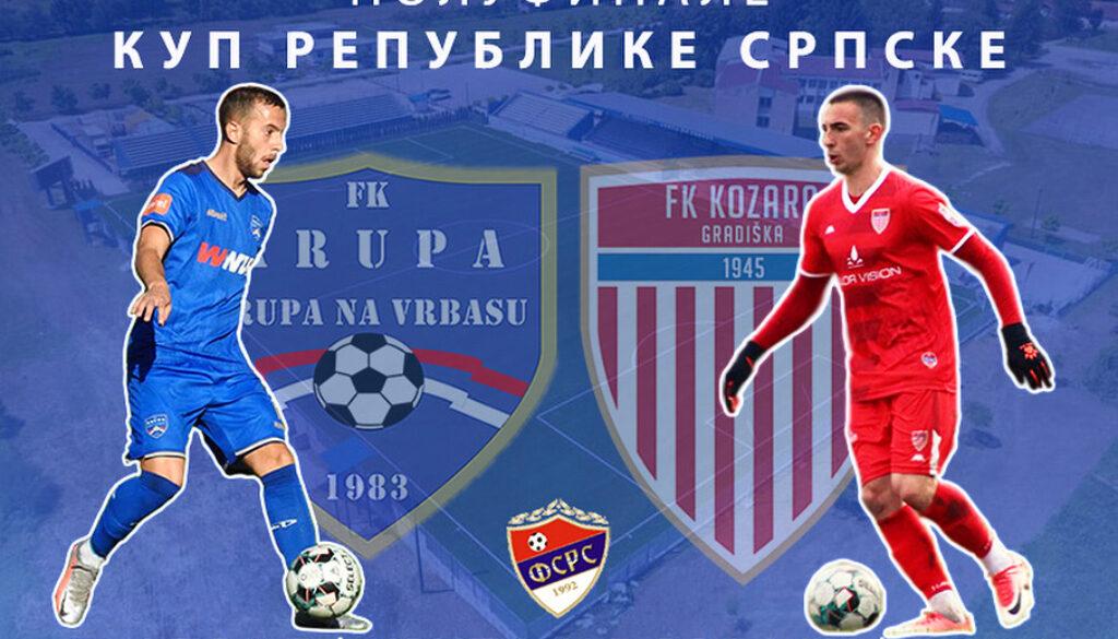 U Krupi prva utakmica polufinala Kupa