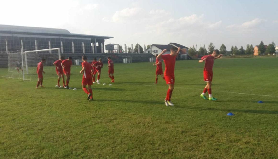 Omladinci se spremaju za prvenstvo